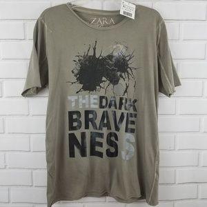 Zara Shirts - Zara Young Guerrilla The Dark Braveness Tee